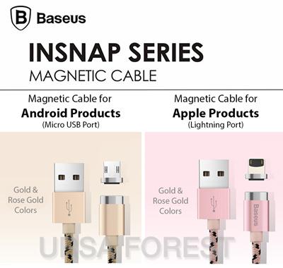 Cáp sạc từ Baseus insnap series cable