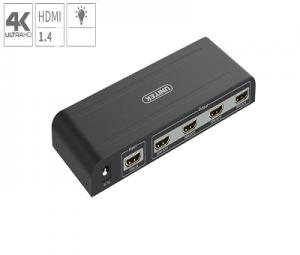 Bộ chia 1 HDMI ra 4 cổng HDMI UNITEK Y-5184A