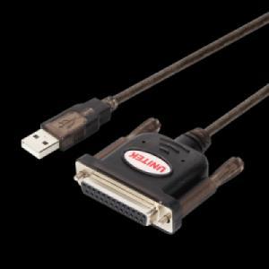 CÁP CHUYỂN USB SANG DB25 1,5 MÉT UNITEK Y-121