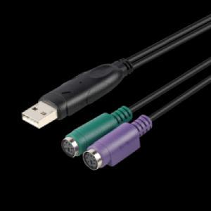 CÁP USB sang 2 cổng PS2 UNITEK Y-155