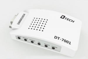 Bộ chuyển tín hiệu VGA sang AV, Svideo DTECH DT-7001
