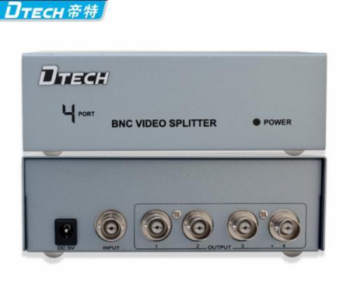 Bộ chia BNC, chia Camera 1-4 DTECH DT-7104