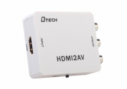 Bộ chuyển đổi HDMI sang AV (RCA) DTECH (DT-6524)