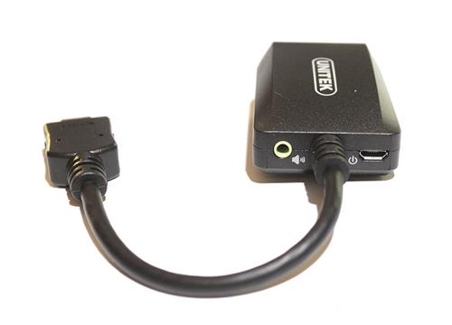 CÁP HDMI SANG VGA+AUDIO UNITEK Y-5304