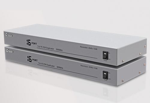 Bộ chia tín hiệu VGA 1 ra 16 DTECH DT-7516