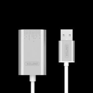 Đầu chuyển cổng USB sang cổng âm thanh UNITEK Y-247