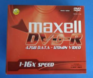 Đĩa DVD-R Maxell có vỏ chính hãng