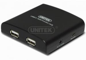 HUB USB kèm cổng PS2 multi media UNITEK Y-2091