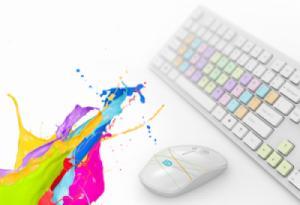 Bộ bàn phím chuột không dây chống ồn Forter G9500S