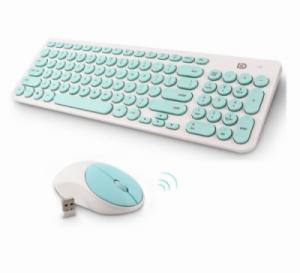 Bộ bàn phím chuột không dây Forter iK6630