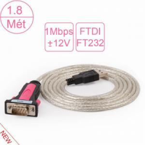 Cáp chuyển USB sang RS232 Z-TEK ZE-533A