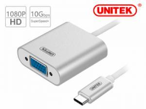 CÁP USB TYPE-C SANG VGA UNITEK  YC-6308