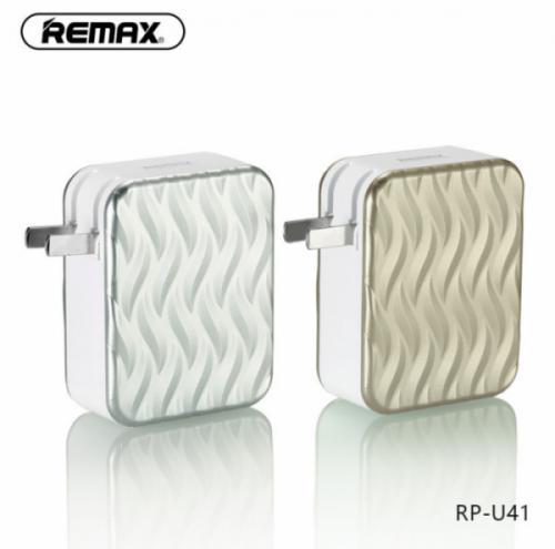 Củ sạc 4 cổng USB Remax RP-U41 6A chính hãng