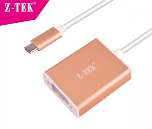 Cáp chuyển USB TYPE C sang VGA Z-Tek ZY231