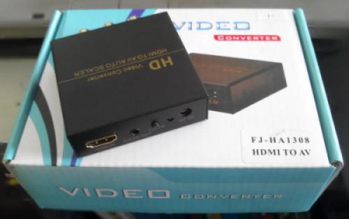 Ổ Chuyển HDMI sang AV+ audio Figear HA1308