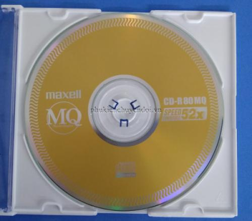 Đĩa CD-R Maxell có vỏ chính hãng