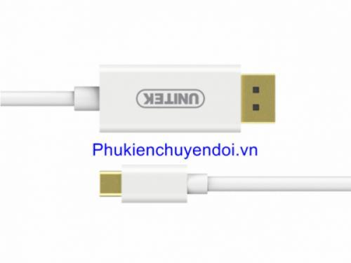 Cáp Type-C to DisplayPort dài 1.8 mét Unitek  V400A