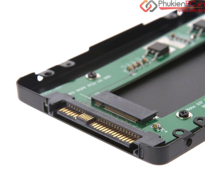 Box chuyển đổi 2.5 NVMe SSD U.2 SFF-8639 sang M.2 PCIe X4