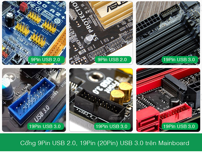 9pin usb 2.0 header mainboard hanoiphukien.vn