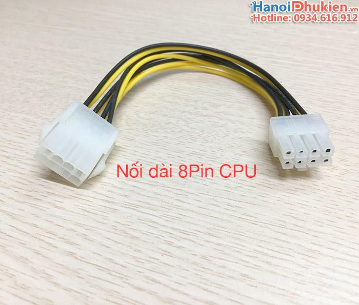 Cáp nối dài nguồn 8Pin cho CPU Mainboard máy tính