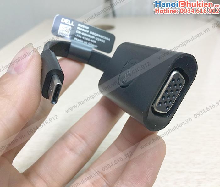 Dell Adaptor USB-C to vga chính hãng