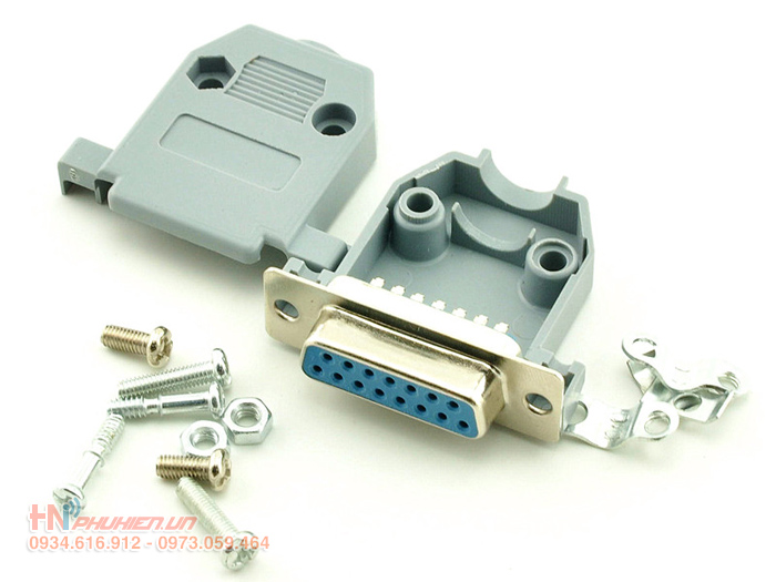 dau han db15, com db15, db15 connector