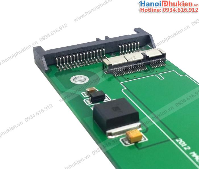 Adapter SSD Macbook Air, Pro Retina 2012 to SATA 7+15Pin