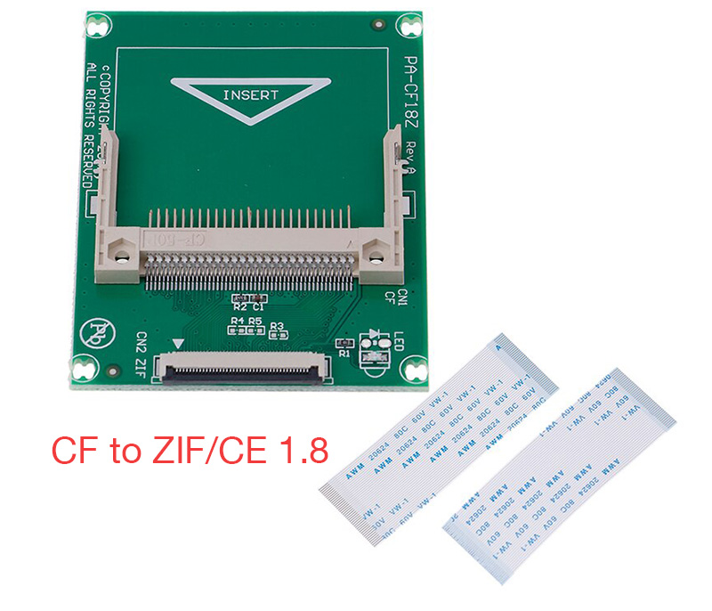 Adpater CF to ZIF CE 1.8