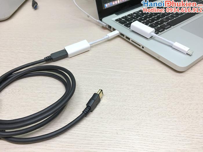 Cáp chuyển đổi Macbook Air, Pro ra firewire 800, 1394B