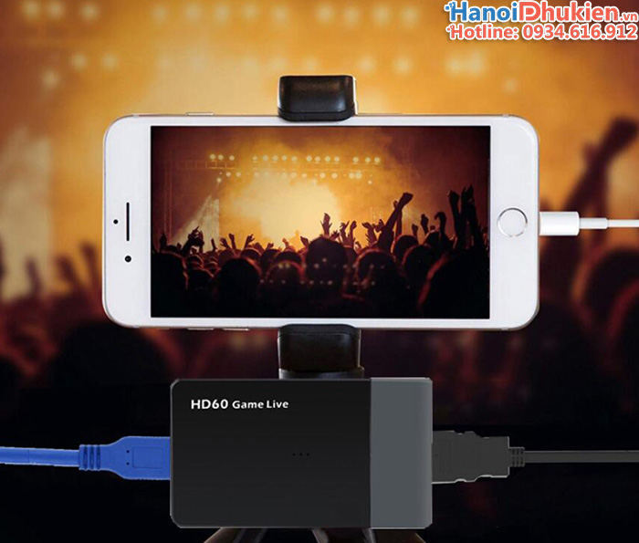 Box Capture HDMI sang USB 3.0 FullHD 1080P60hz