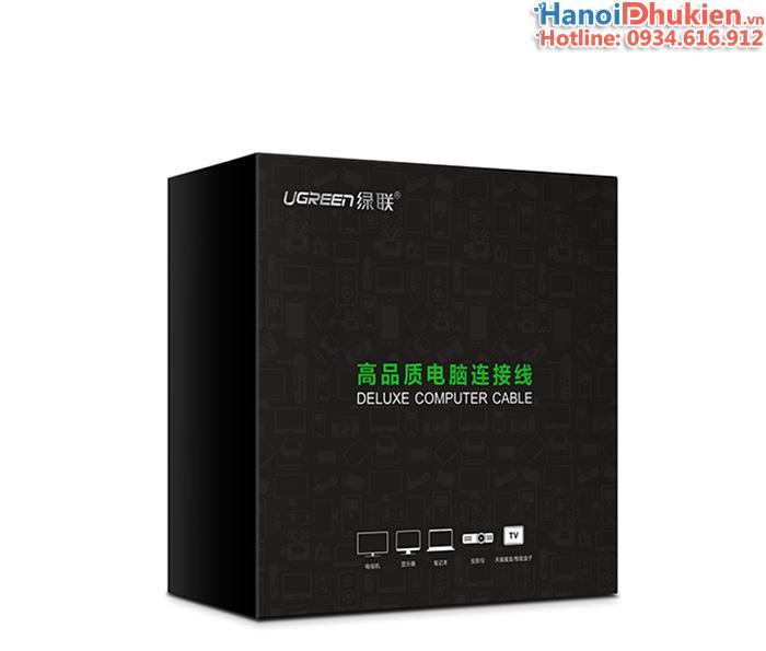 Cáp HDMI 2.0 dài 1.5M Ugreen 30602 hỗ trợ 3D, 4K@60hz