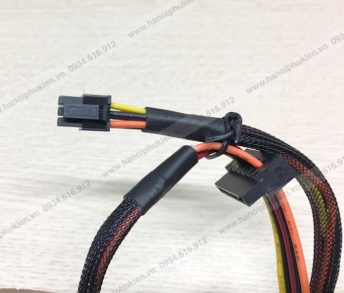 Cáp chia nguồn Mini 6Pin cắm Mainboard sang 2 SATA cho DELL 3653 3650 3655 3252 3668 3670