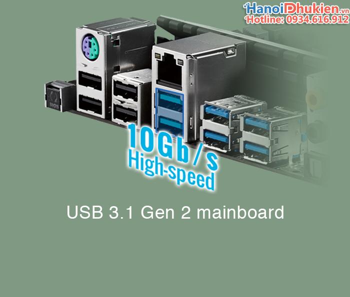 Dây cáp USB 3.1 Type C thế hệ 2 tốc độ 10GB