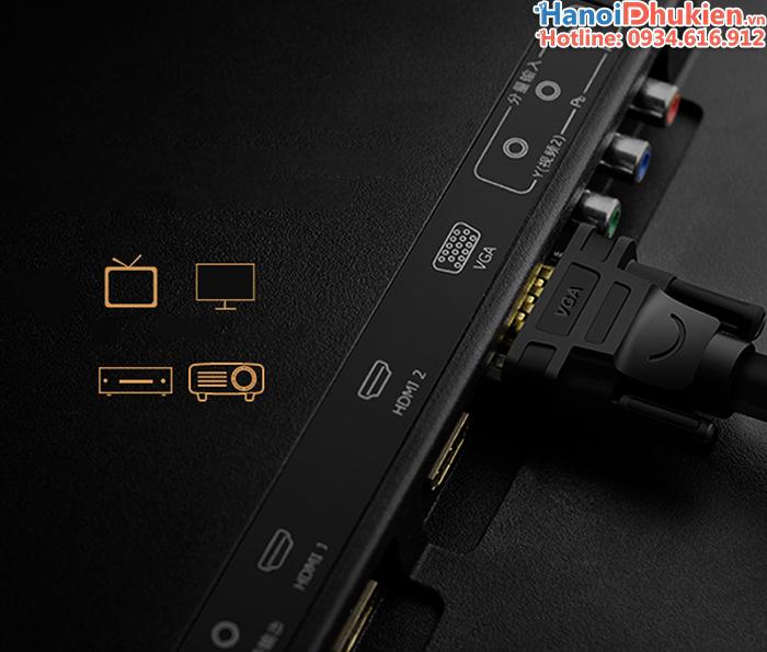 Cáp màn hình VGA chống nhiễu dài ugreen