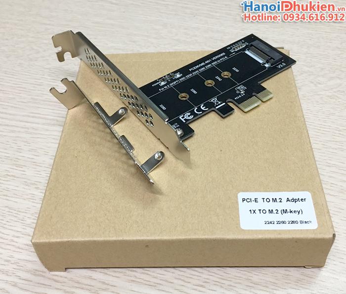 Card chuyển SSD M2 PCIe NVMe sang PCI-E 1X
