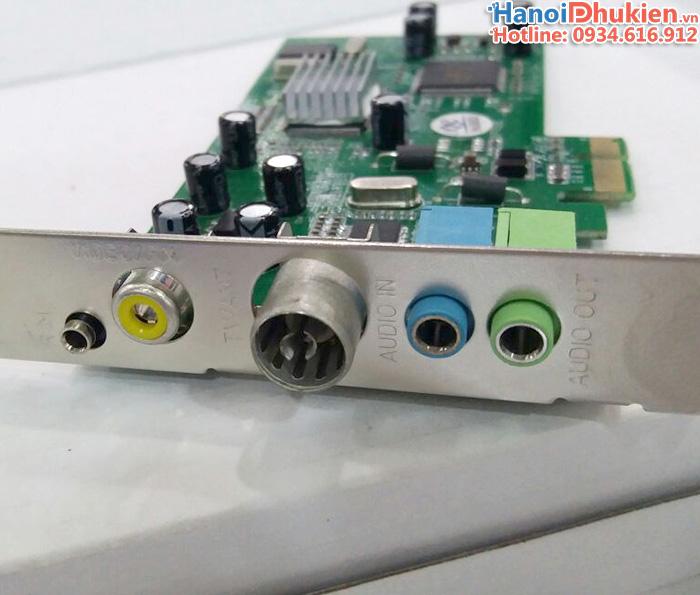 Card PCI-E to AV (RCA) ghi hình máy siêu âm, nội soi chất lượng tốt