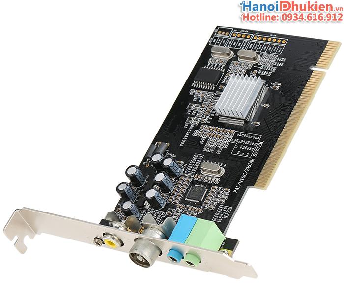 Card PCI to AV (RCA) ghi hình máy siêu âm, nội soi