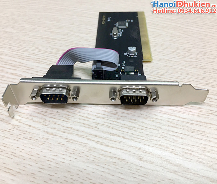 Card PCI to 2 Serial RS232 SSU-PCI 2S hỗ trợ XP, 7, 8, 10