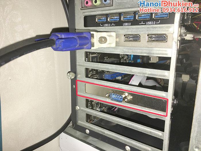 Cáp chuyển đổi cổng COM 9 chân trên mainboard máy tính sang COM thường (RS232)