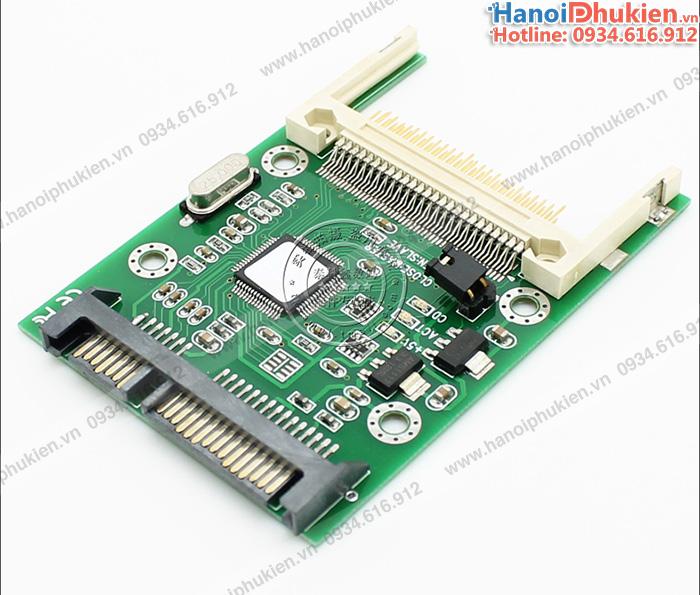 Card chuyển đổi thẻ nhớ Compact Flash CF sang SATA 2.5 chip JM20330