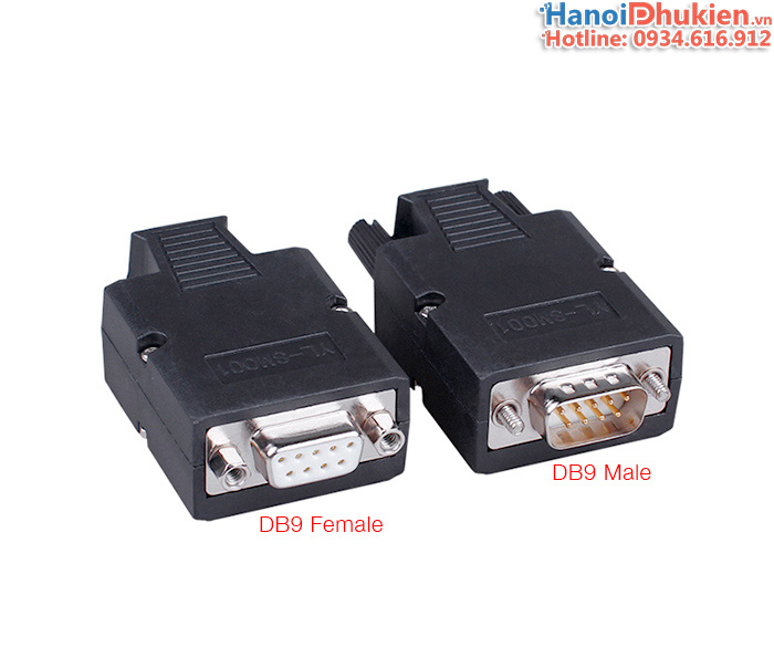 Đầu bấm COM DB9 HD-link male female