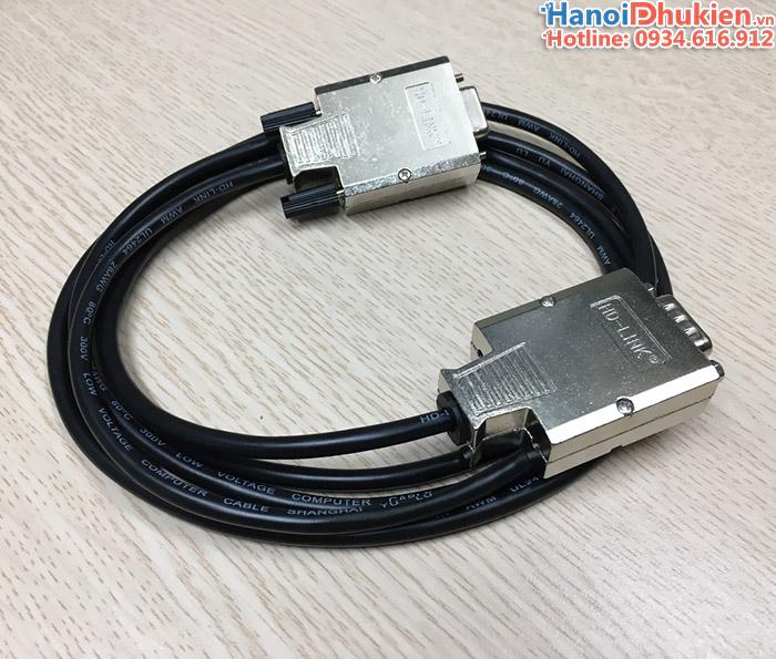 Đầu bấm COM DB9 HD-Link vỏ ốp kim loại