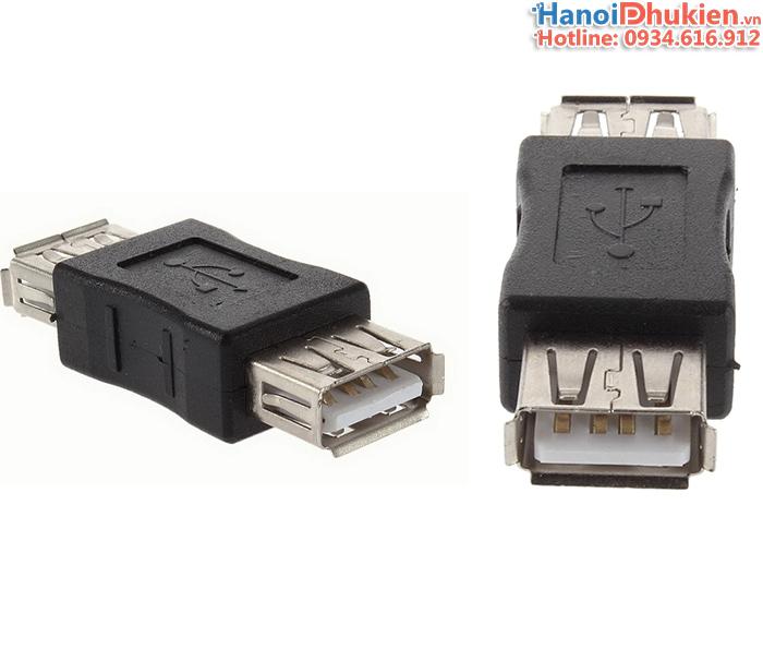 Đầu nối USB 2.0 Female to Female (2 đầu cái)