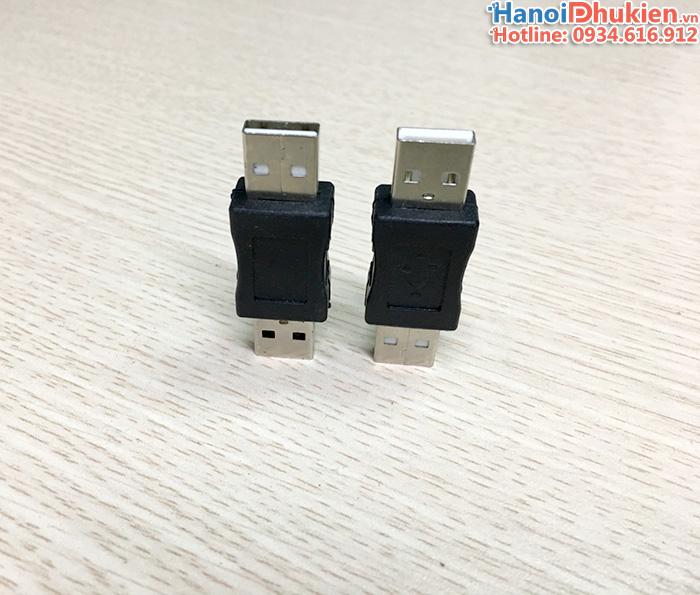 Đầu nối USB hai đầu đực (male to male)