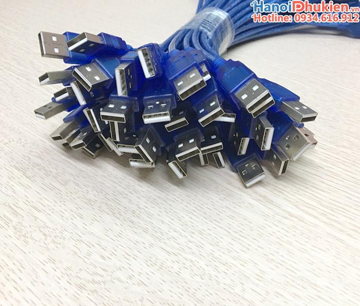 Cáp nối dài USB đầu đực - đầu cái dài 30cm