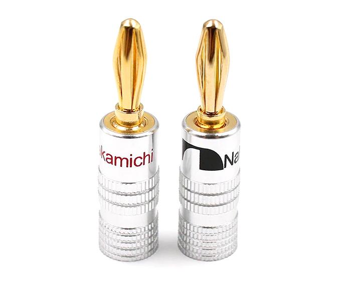 Giắc audio bắp chuối Nakamichi 4mm
