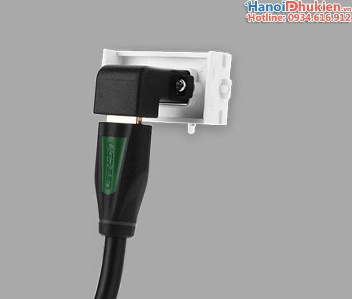 Nhân HDMI âm tường bẻ góc 90 độ - HDMI wallplate HD-Link