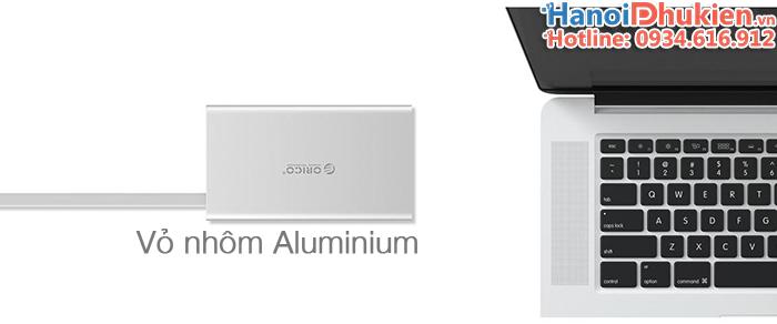 Orico ADS2 bộ chuyển đổi USB-C sang HDMI/VGA/USB 3.0/LAN Gigabits, hỗ trợ sạc