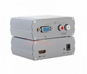 Bộ chuyển đổi màn hình VGA, Audio sang HDMI Dtech DT-7004