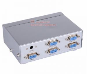Bộ chia VGA 1 ra 4 MT-5004 hỗ trợ cáp VGA 65M